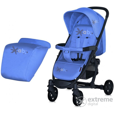 Lorelli S300 Sport babakocsi lábzsákkal 2015 Blue  4216795387