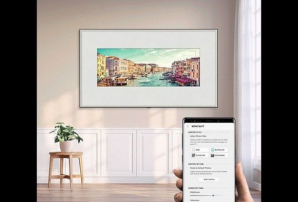 Samsung Q82R 4K Sík Smart QLED TV
