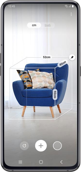 Samsung Galaxy A80 Dual SIM (SM-A805) kártyafüggetlen okostelefon, Black (Android) 04