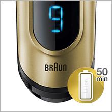 Braun Series 9-9299s Wet Dry férfi elektromos borotva arany  afe8306d90