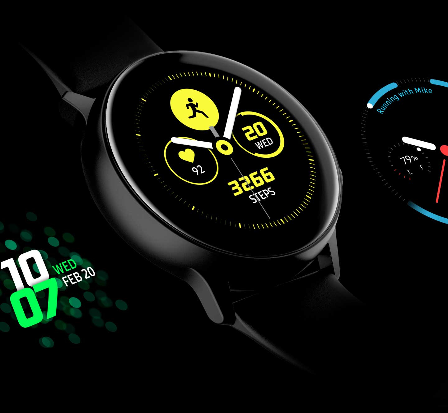 Samsung Galaxy Watch Sport okosóra