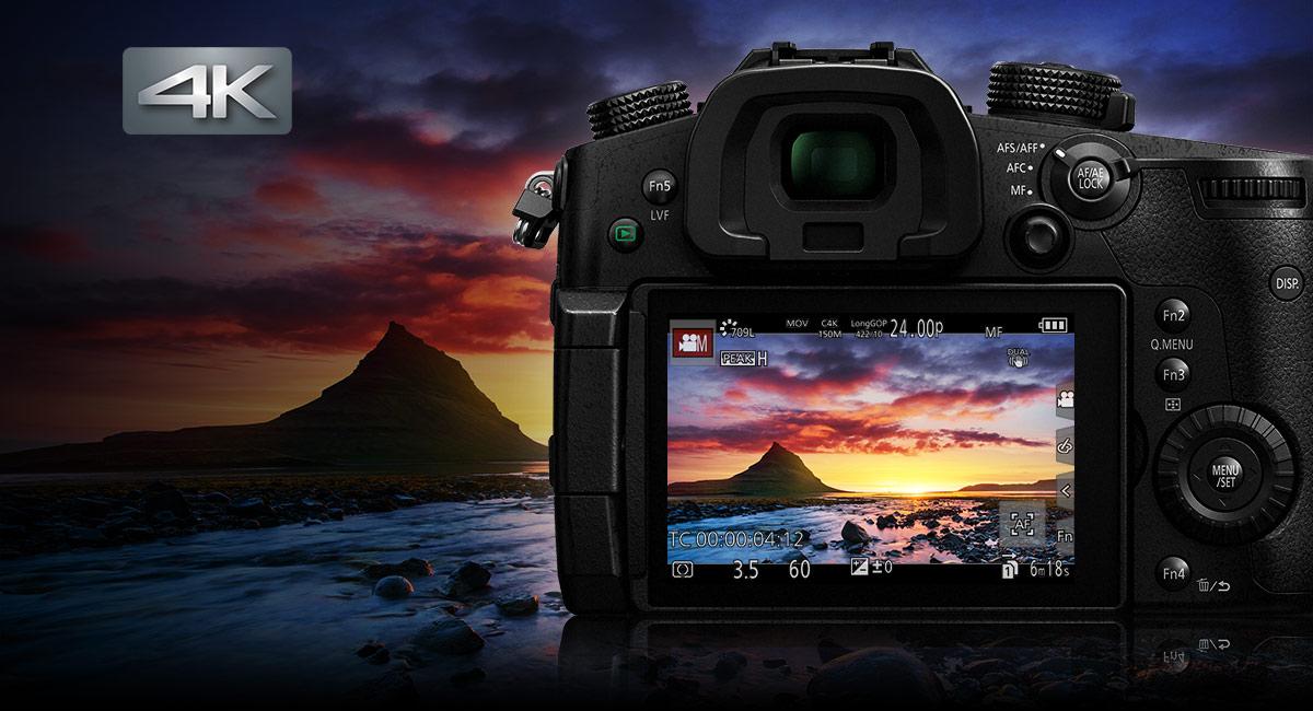 Panasonic DMC-GH5E fényképezőgép váz