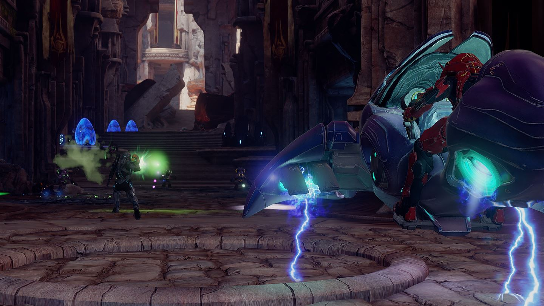 Halo 4 kampány együttműködés