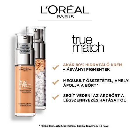 L`Oréal Paris True Match 1R1C Rose Ivory alapozó