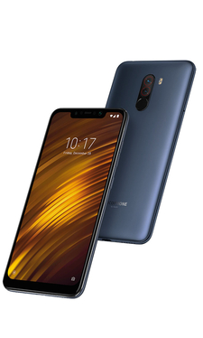 Xiaomi Pocophone F1 6GB/64GB Dual SIM kártyafüggetlen okostelefon, kék 03