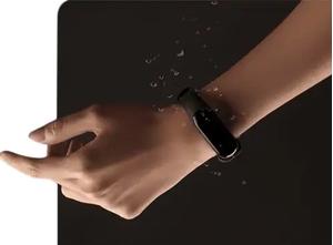 Xiaomi MiBand 3 aktivitásmérő karpánt pulzusmérővel, fekete 3