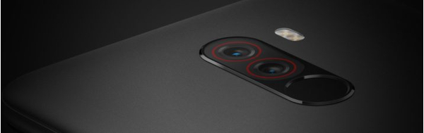Xiaomi Pocophone F1 6GB/64GB Dual SIM kártyafüggetlen okostelefon, kék 06