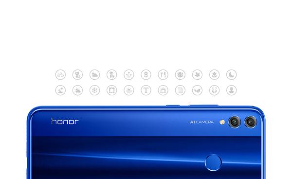 Honor 8X 4GB/128GB Dual SIM kártyafüggetlen okostelefon, fekete (Android) 10