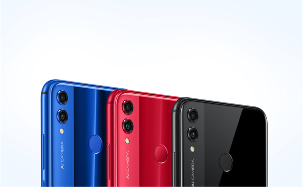 Honor 8X 4GB/128GB Dual SIM kártyafüggetlen okostelefon, fekete (Android) 05