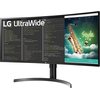 "LG 35WN65C-B 35"" ívelt VA LED monitor"