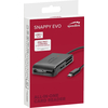 Speedlink SNAPPY EVO SL-150200-BK All-in-One USB-C čitač kartica, crna
