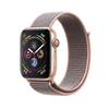Apple Watch Series 4 GPS, 40mm, arany aluminium tok homokrózsaszín sportpánttal