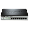D-Link 8-Port 10/100 Mbps Fast Ethernet PoE Smart Switch (DES-1210-08P)
