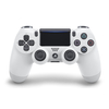 PlayStation 4 (PS4) Dualshock 4 V2 Wireless Controller, white