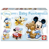 Educa Disney Baby Mickey Mouse and Friends puzzle, 5 in 1