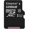 Карта памет Kingston Secure Digital Micro 128GB SDXC Class10  Single Pack w/o adapter
