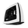 Carcasa NZXT Manta Mini-IT, alb/negru, panou lateral