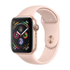 Apple Watch Series 4 GPS, 40mm, arany aluminium tok homokrózsaszín sportszíjjal