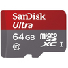 SanDisk microSDXC kártya 64GB Ultra Class10 UHS-I + SD adapter, Android Edition