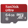 SanDisk Secure Digital Micro 64GB SDXC Ultra Class 10 + SD adapter