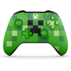 Controller wireless Xbox One Minecraft collection - Creeper, verde