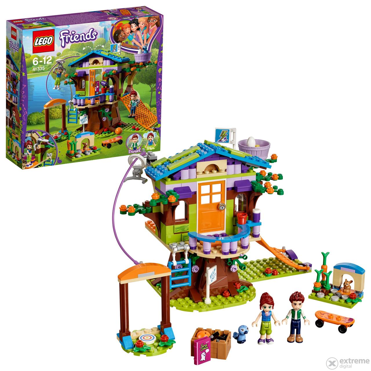 Lego Friends 41335 Mia A Jej Domček Na Strome Extreme Digital