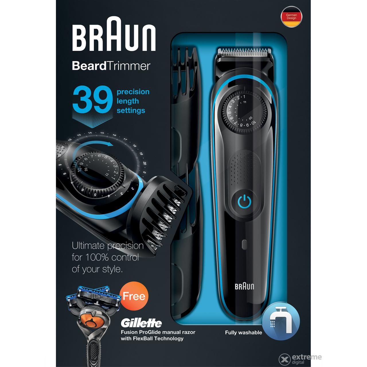 Braun BT3040 szakállvágó  6681a3fd15
