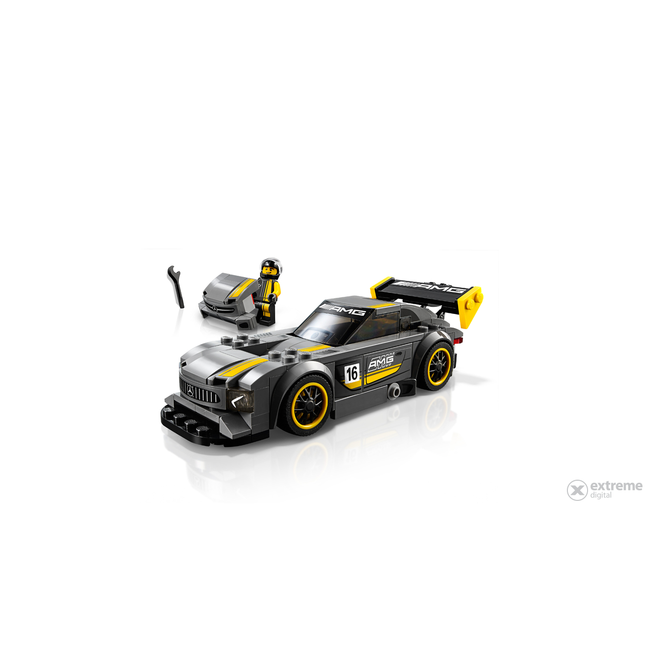 lego speed champions mercedes amg gt3 75877 extreme digital. Black Bedroom Furniture Sets. Home Design Ideas