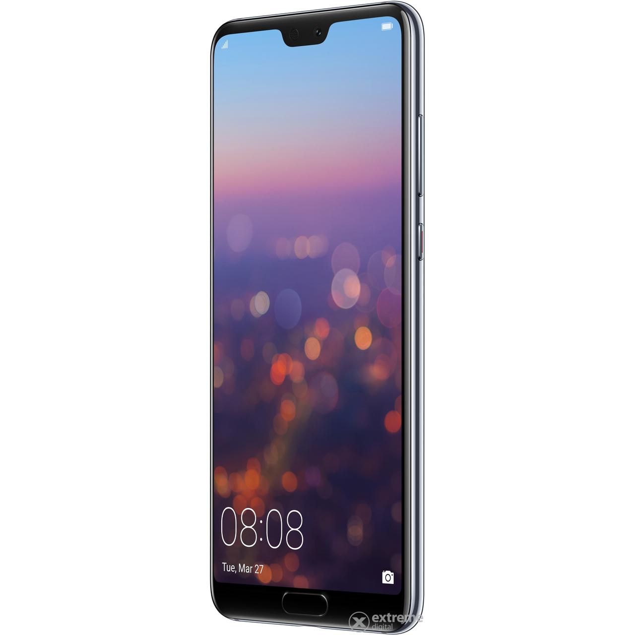huawei p20 pro dual sim smartphone ohne vertrag blau android extreme digital. Black Bedroom Furniture Sets. Home Design Ideas