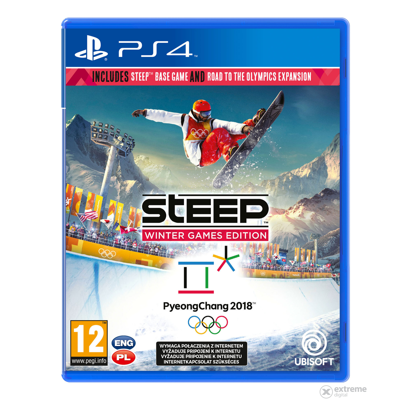 Steep Winter Games Edition PS4 játékszoftver