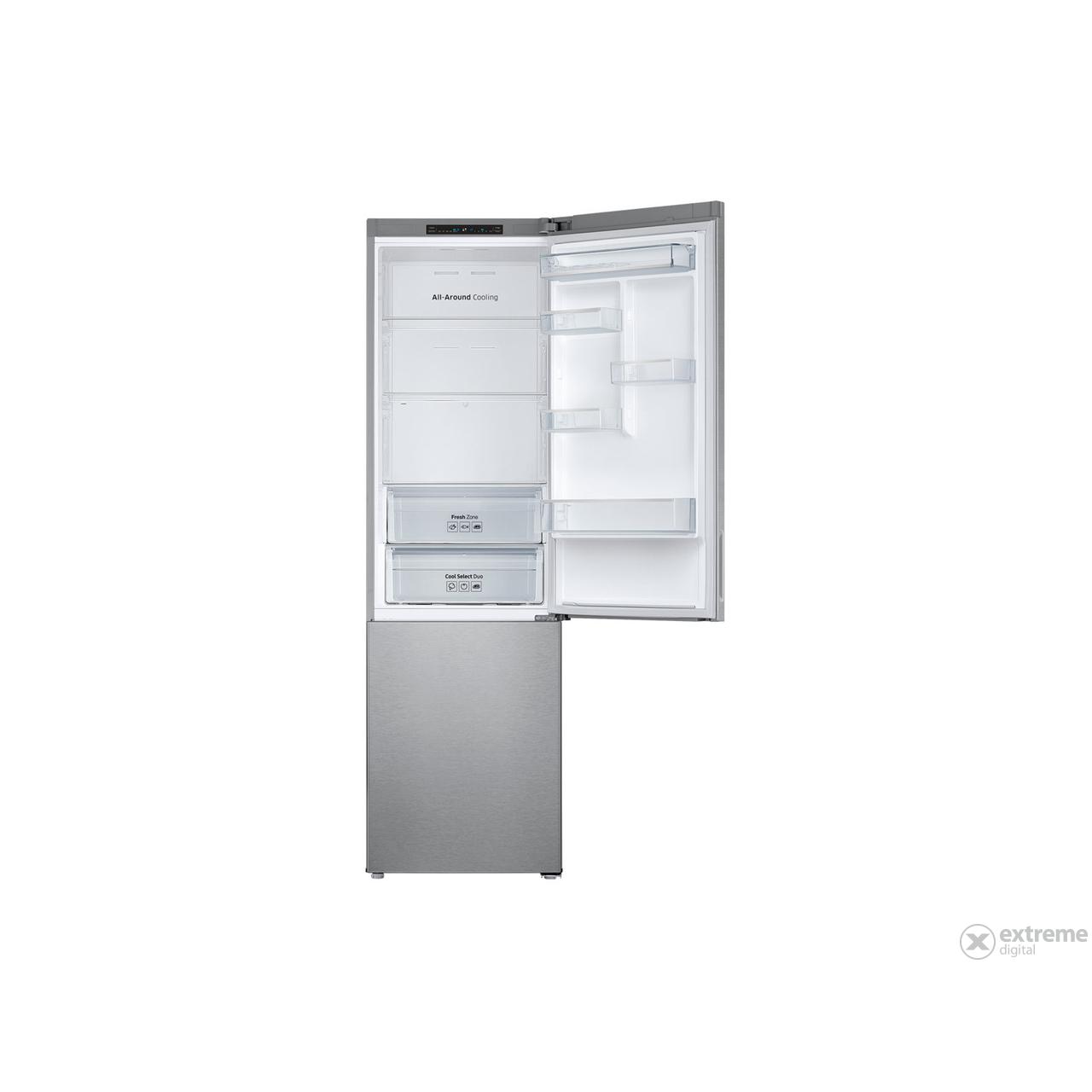 SAMSUNG RB37J506MSAEF No Frost kombinált hűtőszekrény
