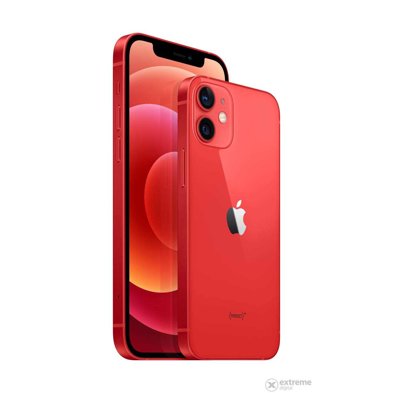 Apple iPhone 12 128GB okostelefon (mgjd3gh/a), (PRODUCT)RED