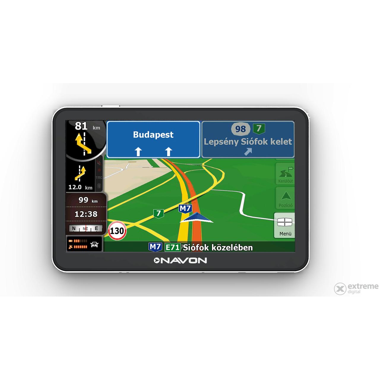 Navon N670 Plus Navigacio Igo8 Europa Terkep 40 Orszag