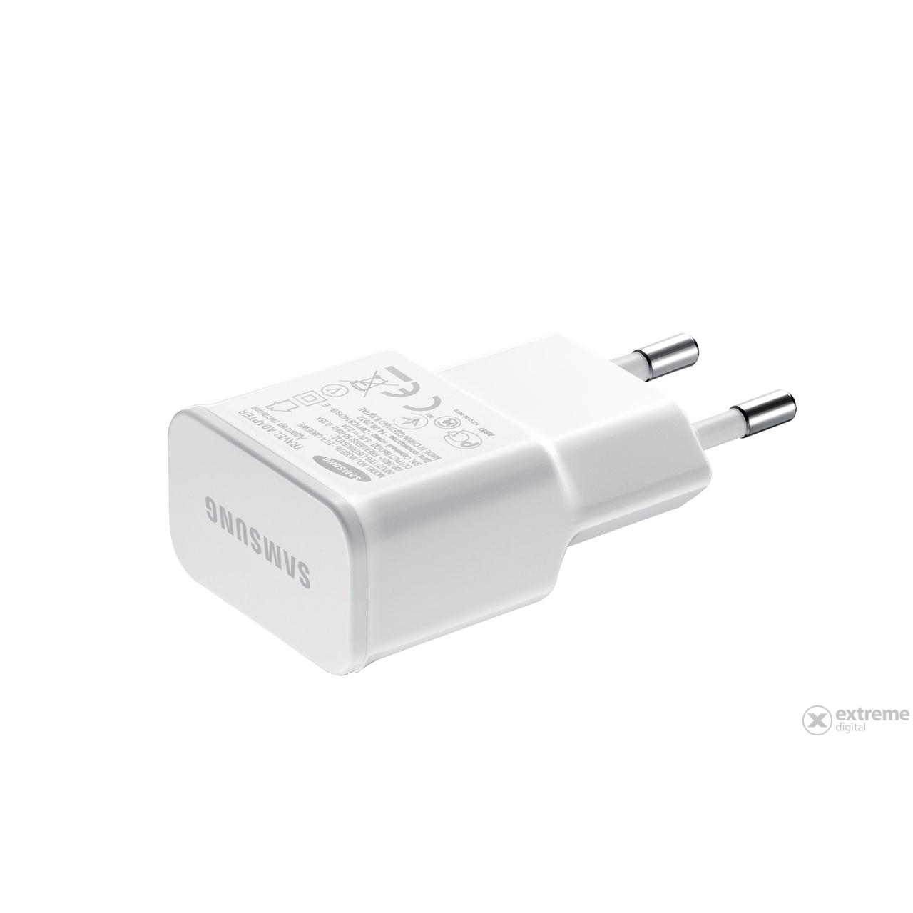 Samsung ETA U90 utazó töltő micro USB, 5V 2A, fehér