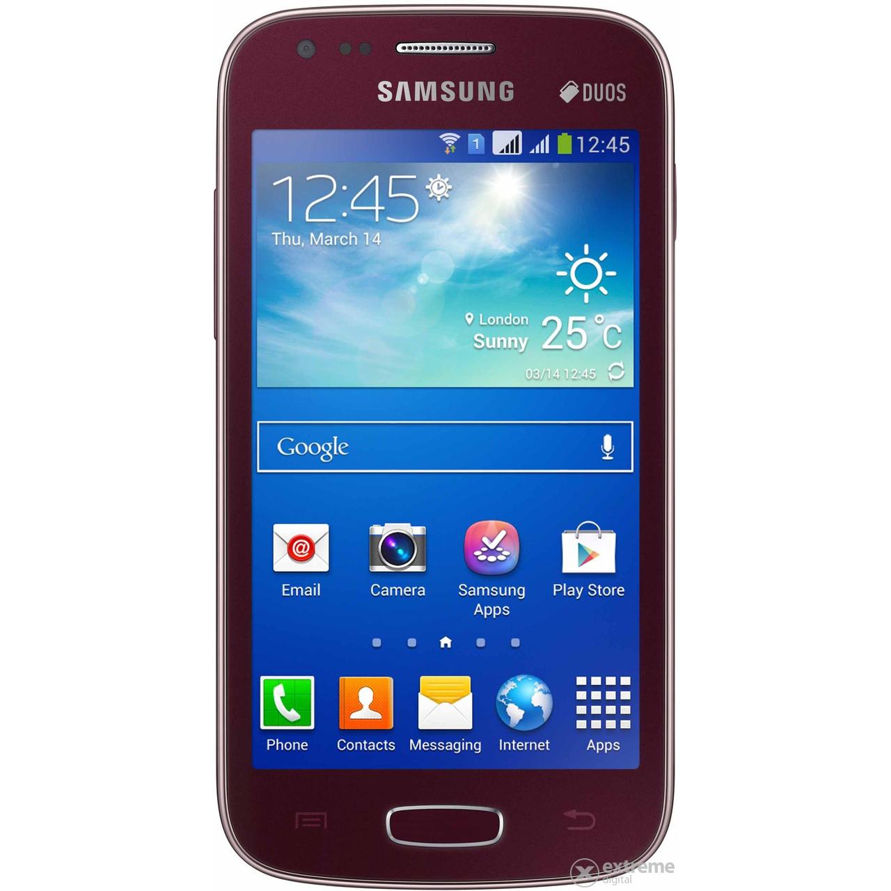 Smartphone Samsung S7275 Galaxy Ace 3 LTE Wine Red