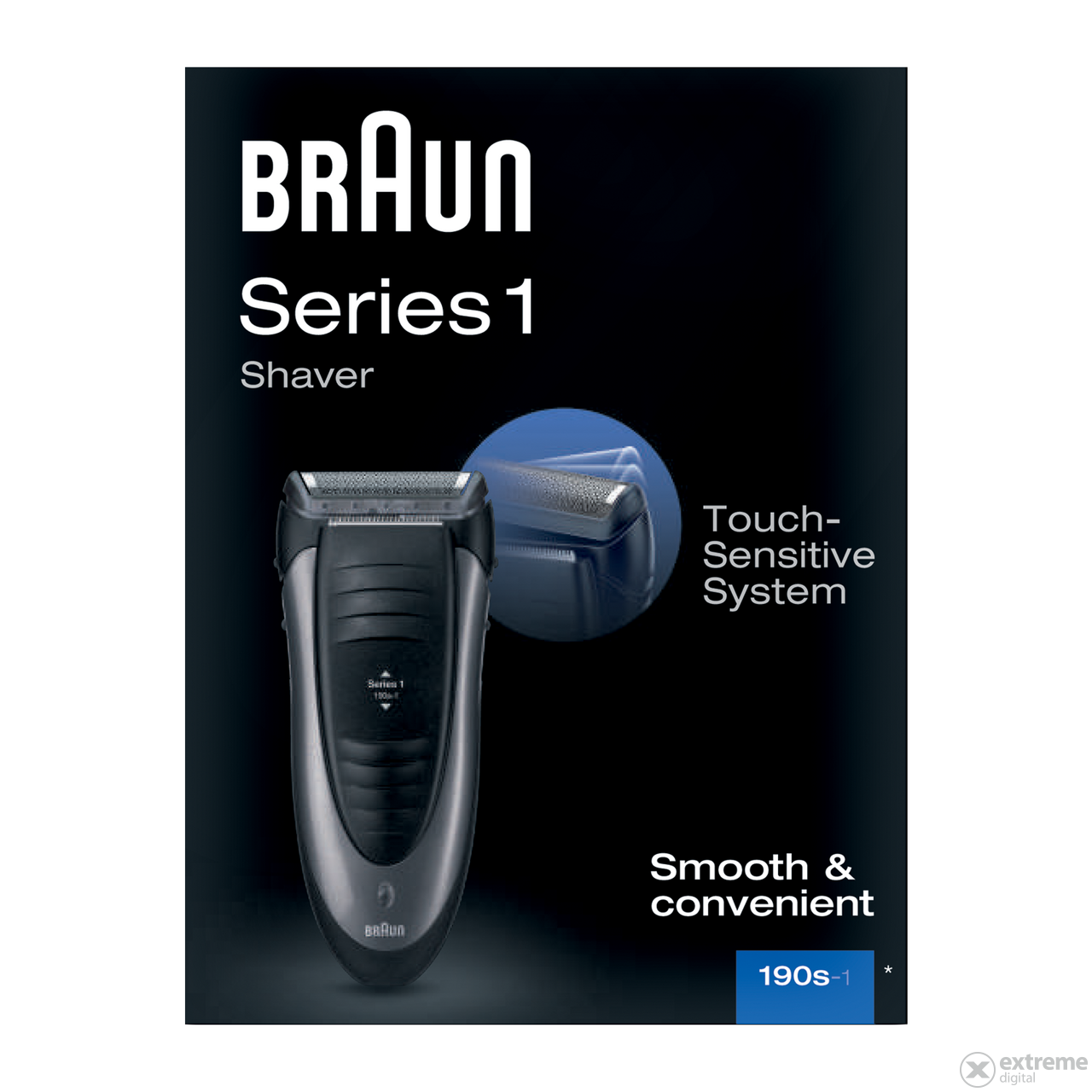 Braun Series 1 190s-1 borotva  53a7af67f5