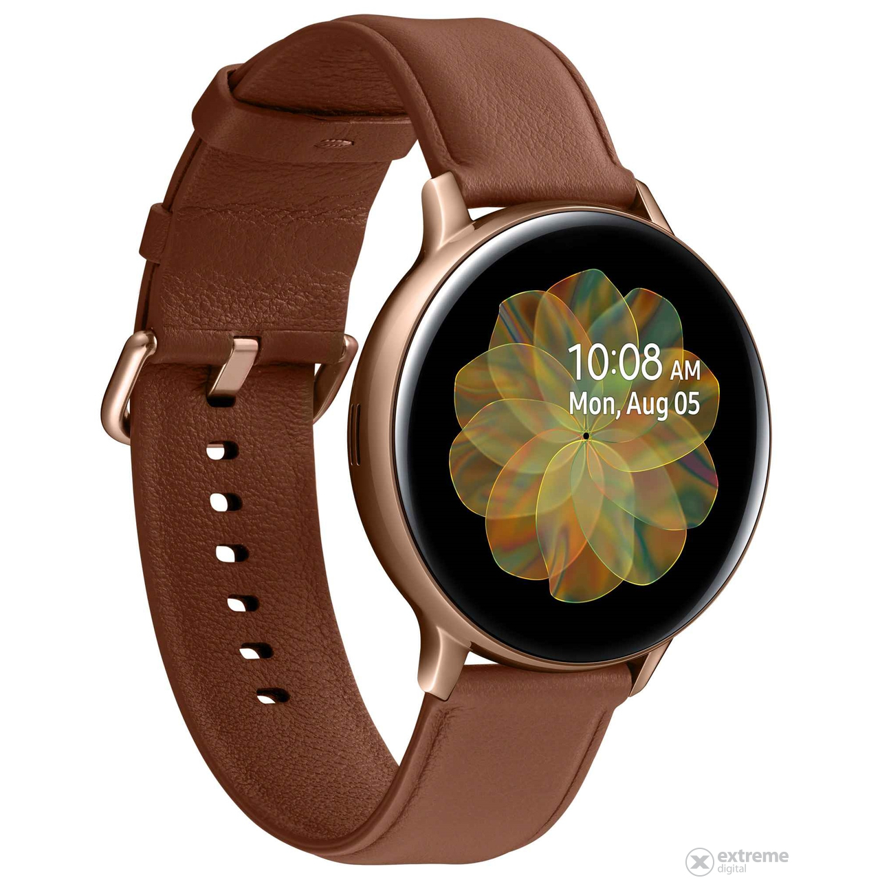 Samsung Galaxy Watch Active 2 okosóra (44mm, Stainless Steel), arany - [Bontott]