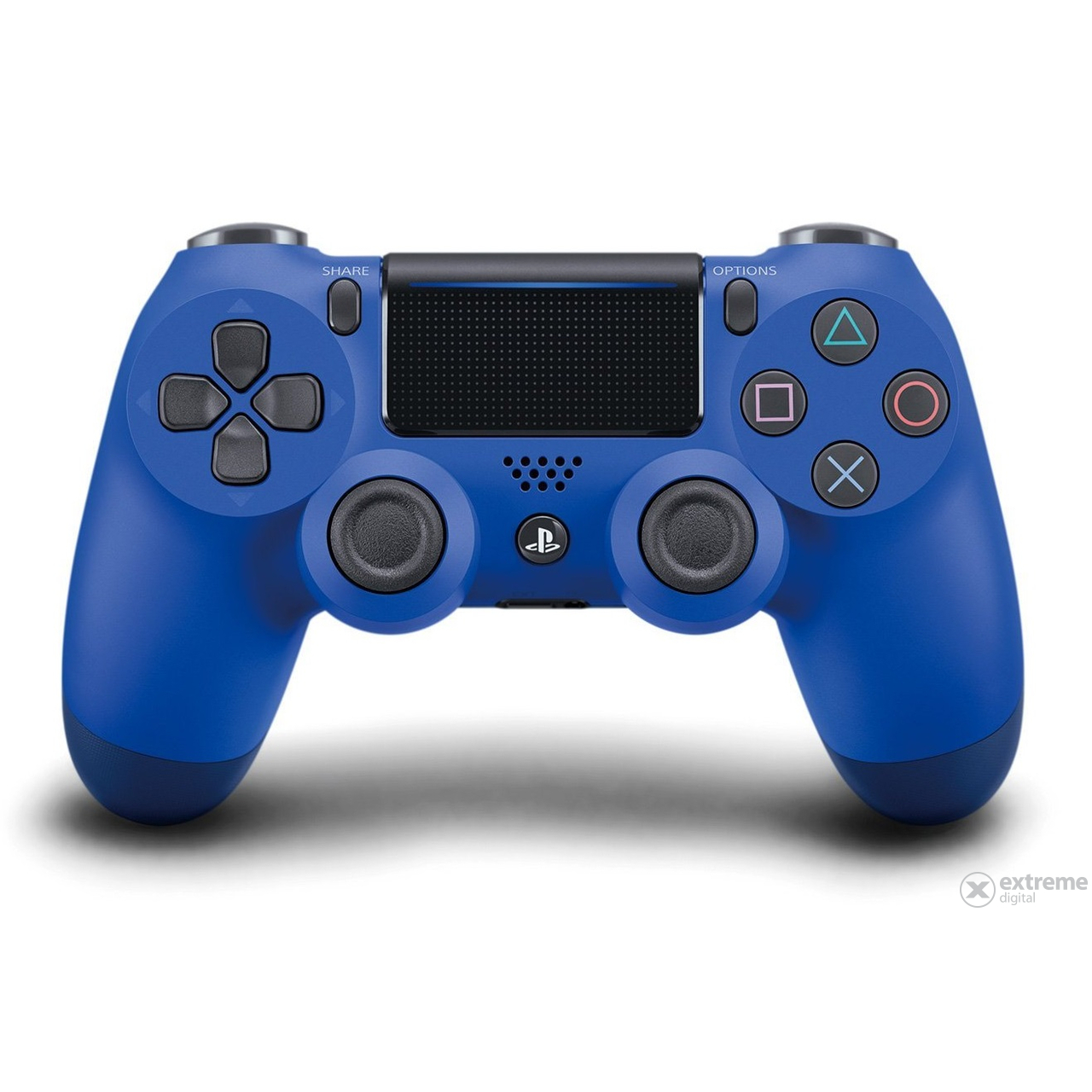 PlayStation 4 (PS4) Dualshock 4 V2 Wireless Controller, blue