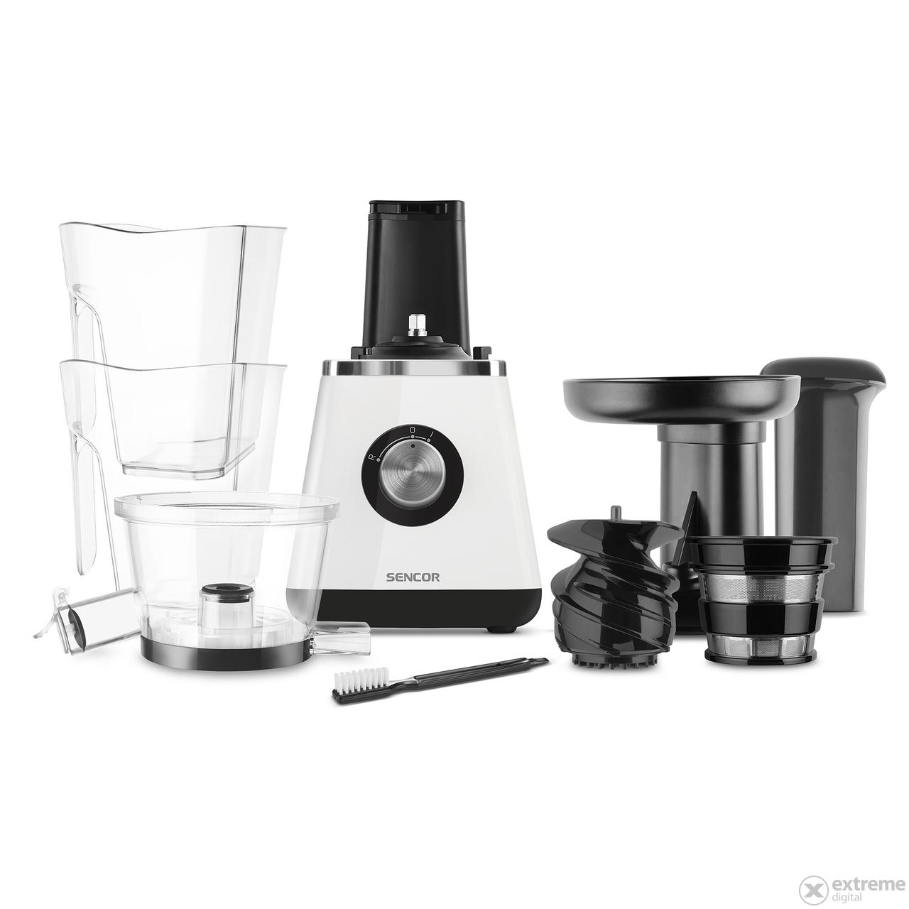 Slow Juicer Extractor Ssj 4043wh : Sencor SSJ 4043WH Slow juicer gyumolcsprEs, fehEr ...