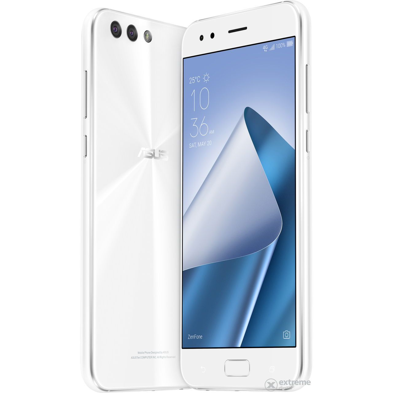 Asus ZenFone 4 ZE554KL Dual SIM White Android