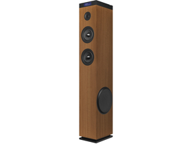 Energy Tower 8G2 Bluetooth hangfal torony, brown - [újracsomagolt]