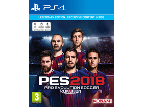 Joc PES 2018 Legendary Edition PS4