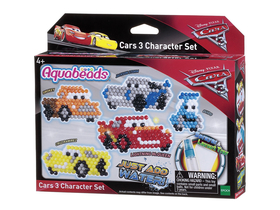 Aqua Beads Cars 3 Character Set