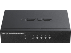 Asus GX-U1051 Gigabit Ethernet Switch, 5 Ports