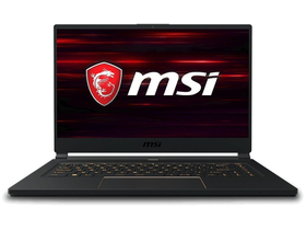 MSI GS65 Stealth 9SE 9S7-16Q411-1627HU notebook, fekete