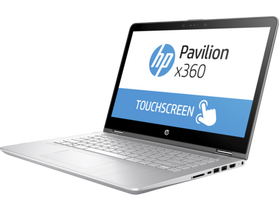 HP Pavilion x360 14-CD0004NH 4TY39EA#AKC notebook, ezüst + Windows 10 Home