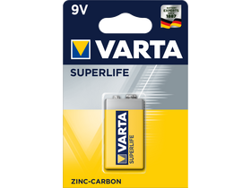 Varta Superlife 6F22 E 9V batéria