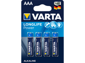 Varta High Energy LR03 AAA Микро алкална батерия, 4бр