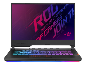 Notebook gamer Asus ROG STRIX G531GT-AL106, negru ( tastatura layout HU)