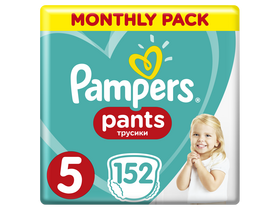 Pampers Pants bugyipelenka, Méret: 5, 152 db